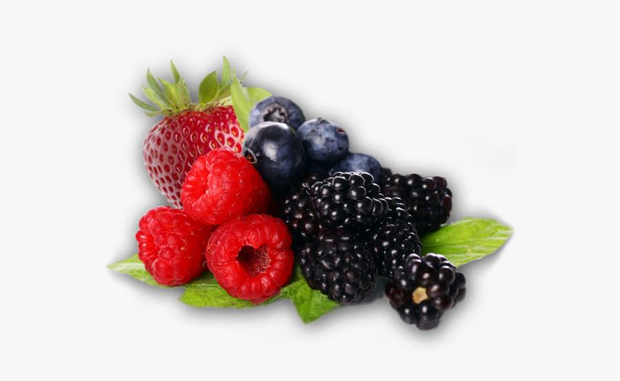 Natural Di Indian Raspberry Mulb - Berries Clipart Png, Transparent Clipart