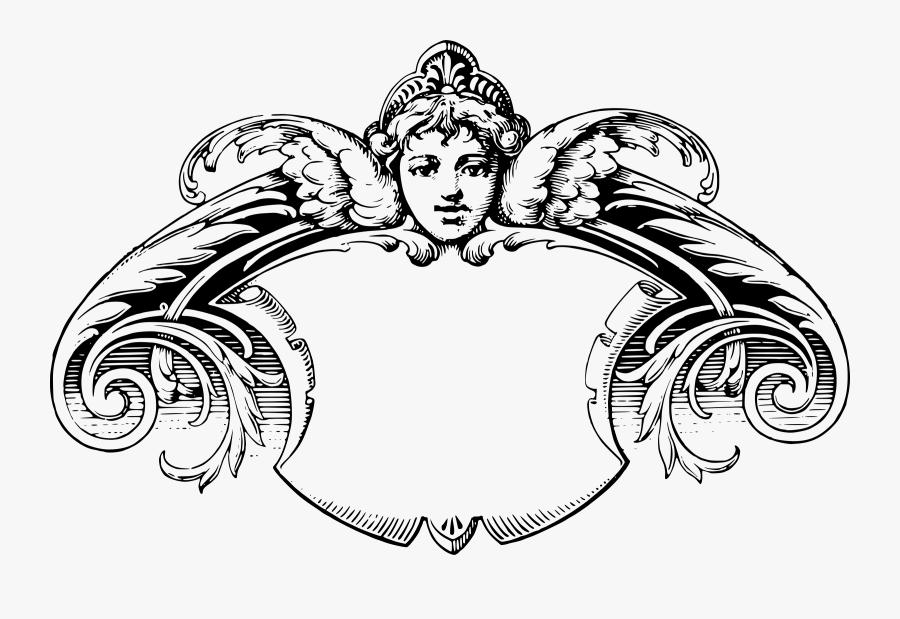Victorian Frames Clip Art - Victorian Frame Clip Art, Transparent Clipart