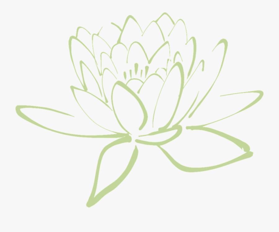 Cartoon Lotus Flower 26, Buy Clip Art - Lotus Flower Drawing Png, Transparent Clipart