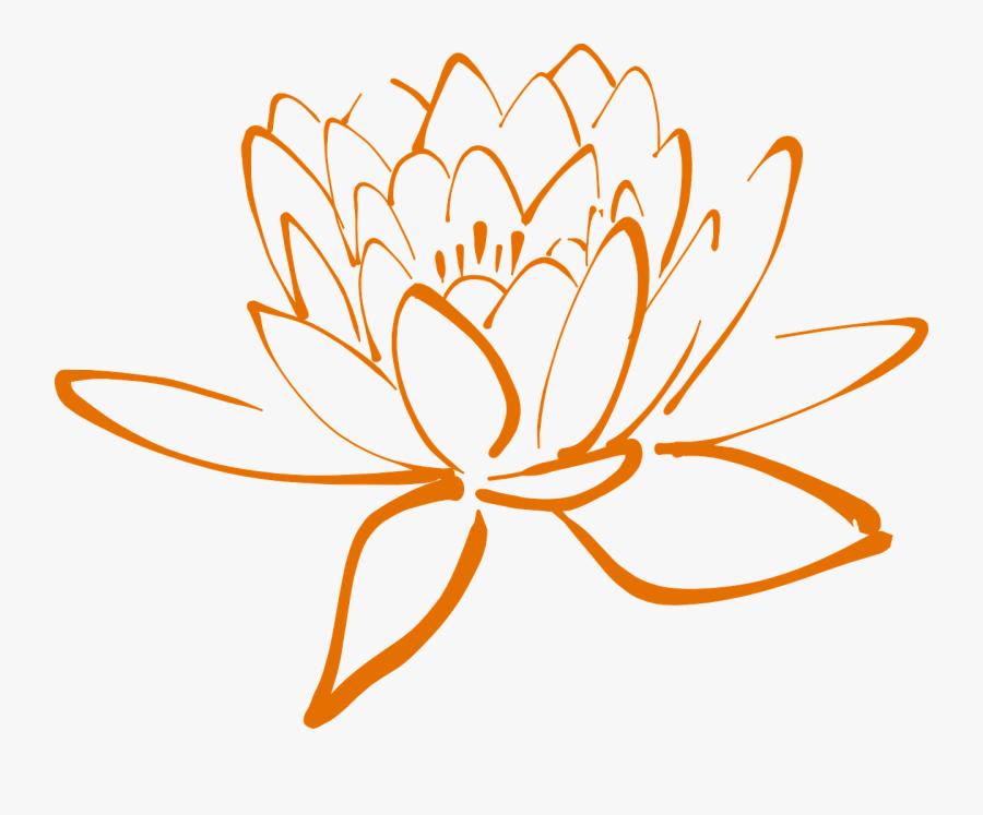 Lotus Blossom Flower - Clipart Purple Lotus Flower, Transparent Clipart