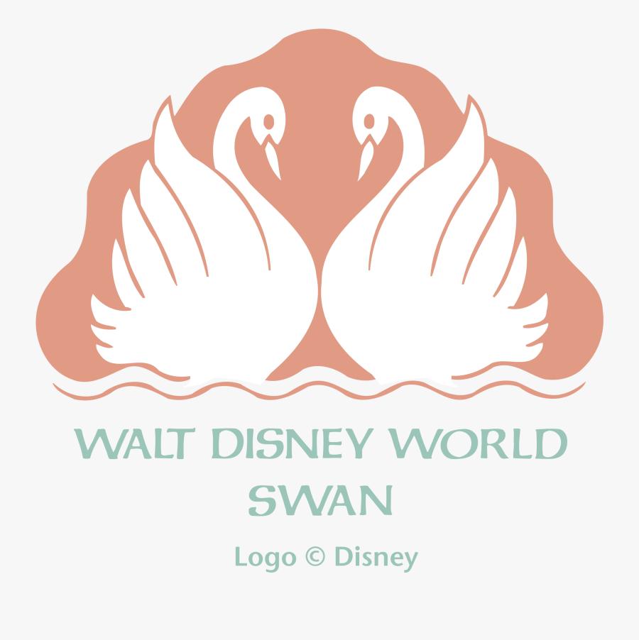 Walt Disney World Swan Logo Png Transparent - Walt Disney World Swan And Dolphin Logo, Transparent Clipart