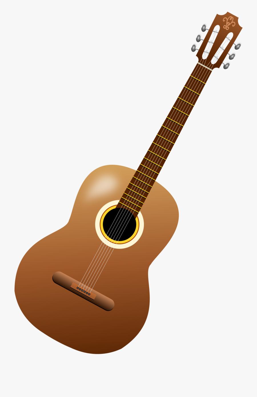 Guitar,string Instrument,musical Instrument,string - Transparent Background Clip Art Guitar, Transparent Clipart
