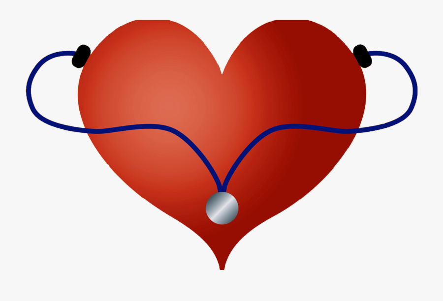 Stethoscope Silhouette At Getdrawingscom Free For Personal - Stethoscope With Heart Svg Free, Transparent Clipart