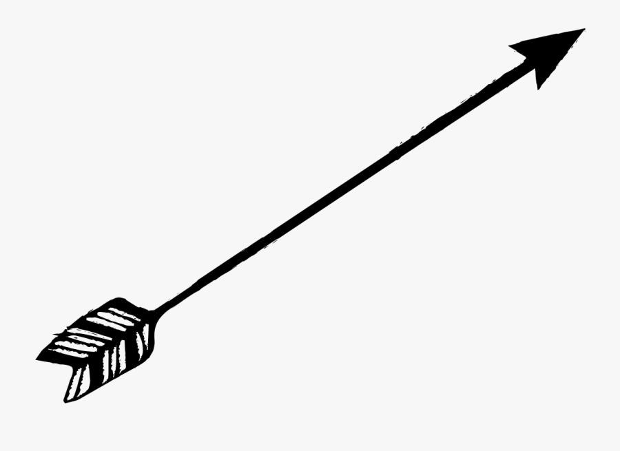 Black Arrow Png Transparent - Transparent Background Black Arrow Clipart, Transparent Clipart