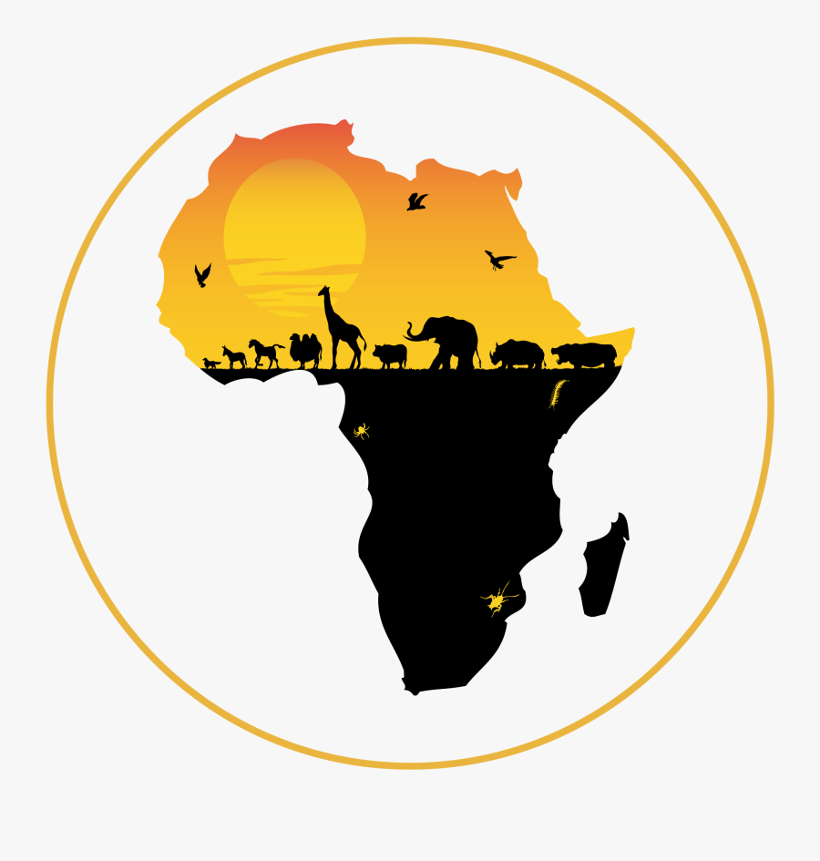 Transparent Africa Silhouette Png - South Africa Clip Art, Transparent Clipart