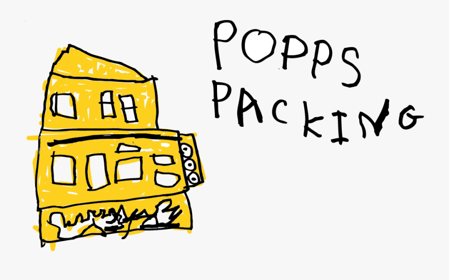 Popps Packing, Transparent Clipart