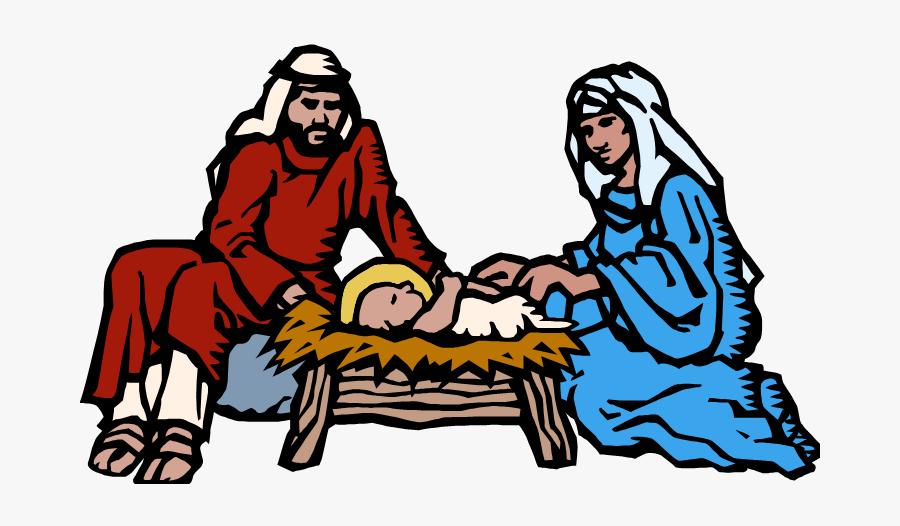 Quia Th Grade Christmas - Nativity Scene, Transparent Clipart