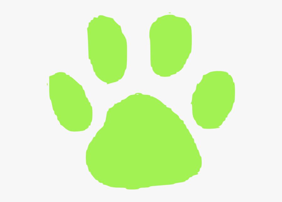 Transparent Tiger Paw Print Png - Cat Paw Print Black Background, Transparent Clipart