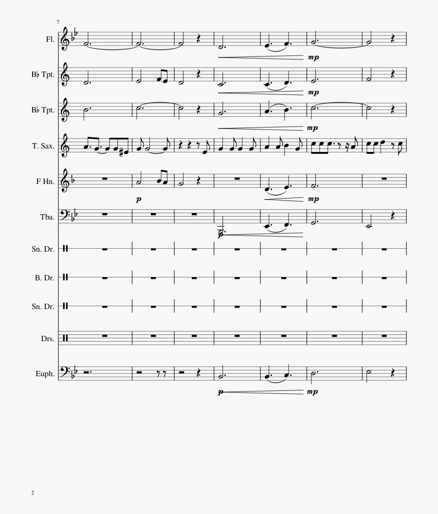 Clip Art Pentatonix Arr Nogaband For - Dumbledore's Farewell Sheet Music, Transparent Clipart