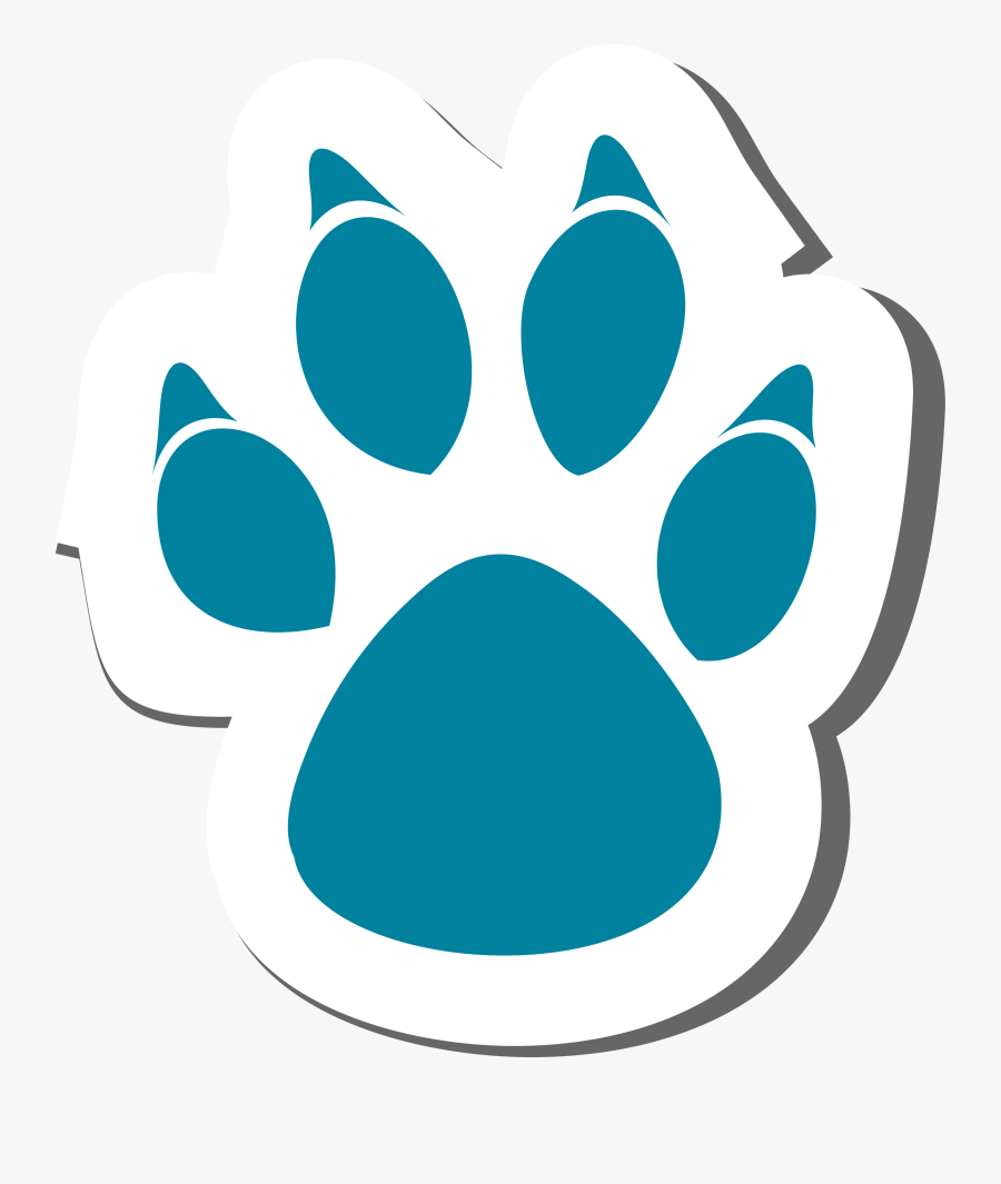 Transparent Claw Scratch Png - Cartoon Animal Paw Prints, Transparent Clipart