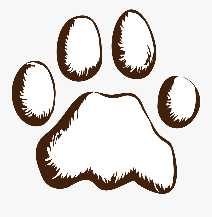 Transparent Cat Paw Print Clipart - Dog Hand Cartoon Png, Transparent Clipart