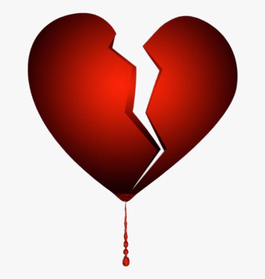 Transparent Pixel Hearts Png - Heart Broken Emoji, Transparent Clipart