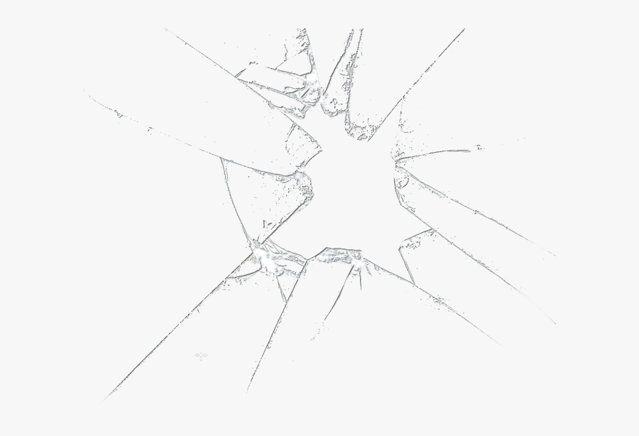 Broken Clipart Shattered Glass - Transparent Background Broken Glass, Transparent Clipart