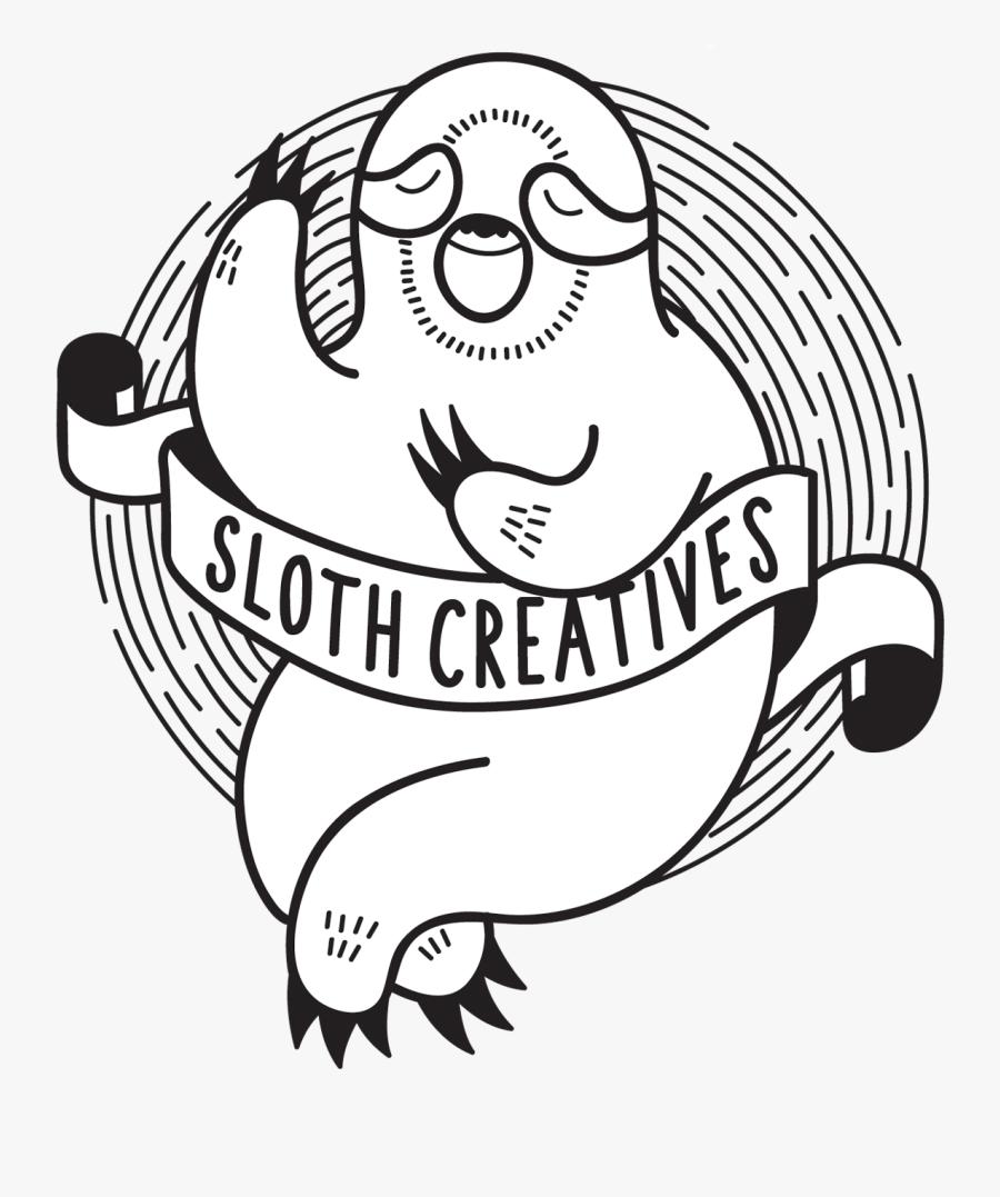 Sloth Drawing Line Art, Transparent Clipart