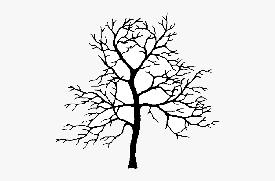 Apple Tree Oak Clipart Branch Drawing At Getdrawings - Crab Apple Tree Silhouette, Transparent Clipart