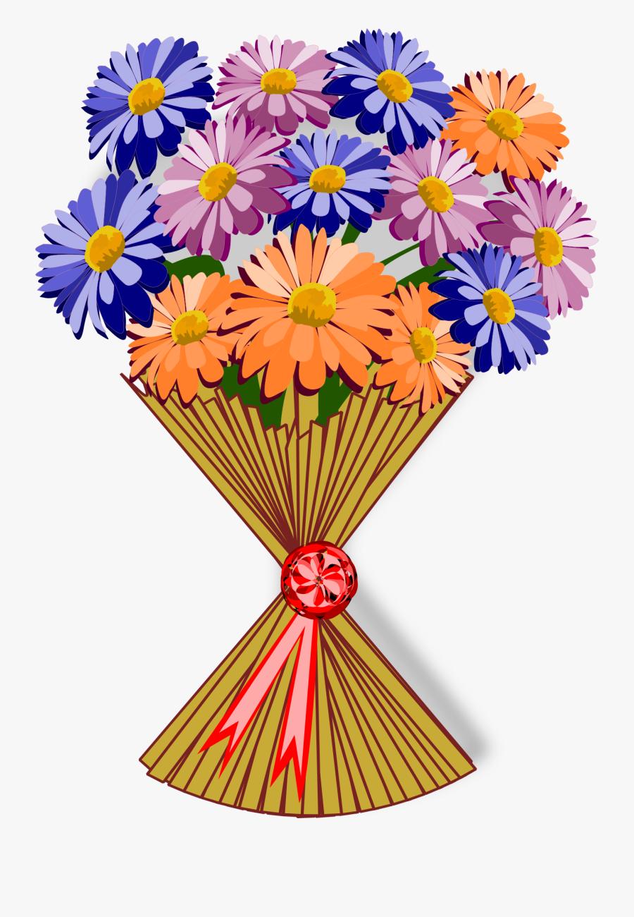 Bouquet Clip Art Flor Free Picture Buket Bunga Vector Png Free Transparent Clipart Clipartkey