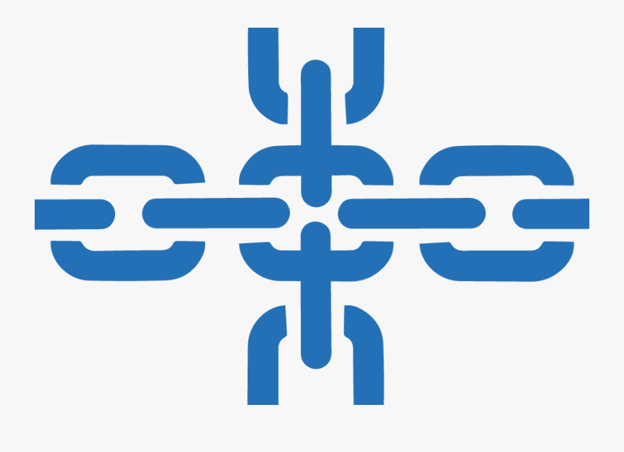 Crossing Chain Icons - Supply Chain Management Logo Png, Transparent Clipart