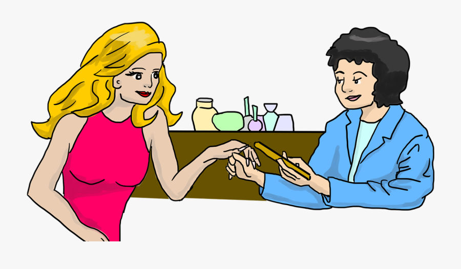 Beauty Salon, Beauty, Manicure, Nail Polish, Nail Care - รูป การ์ตูน ทำ เล็บ, Transparent Clipart