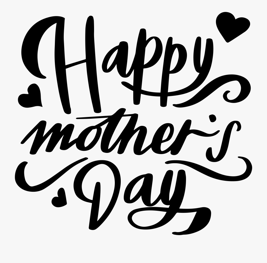 Transparent Background Happy Mothers Day Png, Transparent Clipart