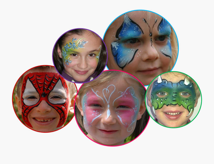 Face Painting Free Png Image Vector, Clipart, Psd - Face Painting Png, Transparent Clipart