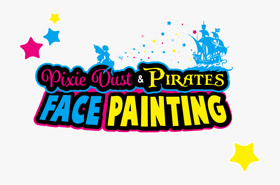 Face Painting Carlisle, Cumbria By Pixie Dust And Pirates - Face Painting Logo Png, Transparent Clipart