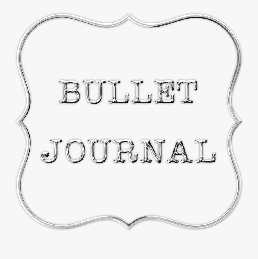 Bullet Journal, Planner, Ideas, Notebook, Journal - Bullet Journal Png, Transparent Clipart