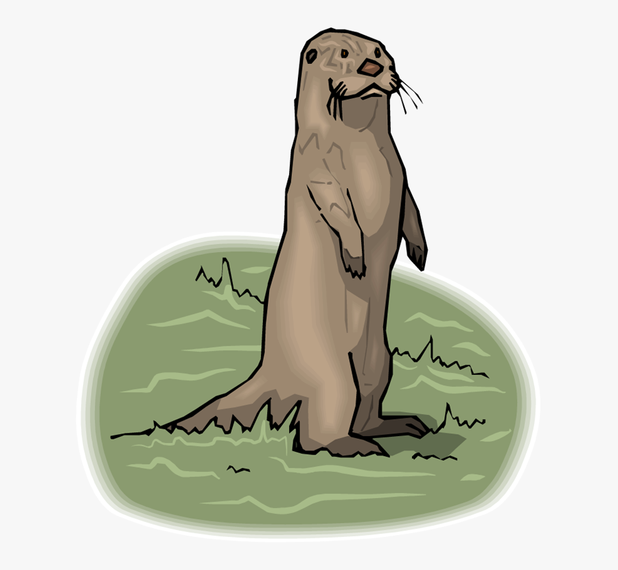 Free Otter Clipart - River Otter Animated, Transparent Clipart