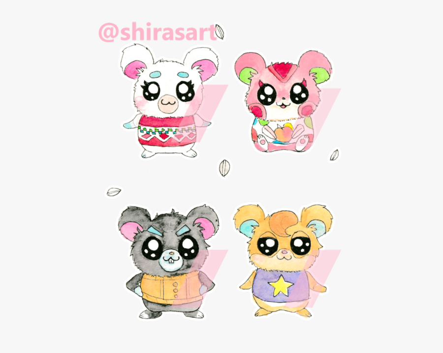 Animal Crossing Hamster, Transparent Clipart