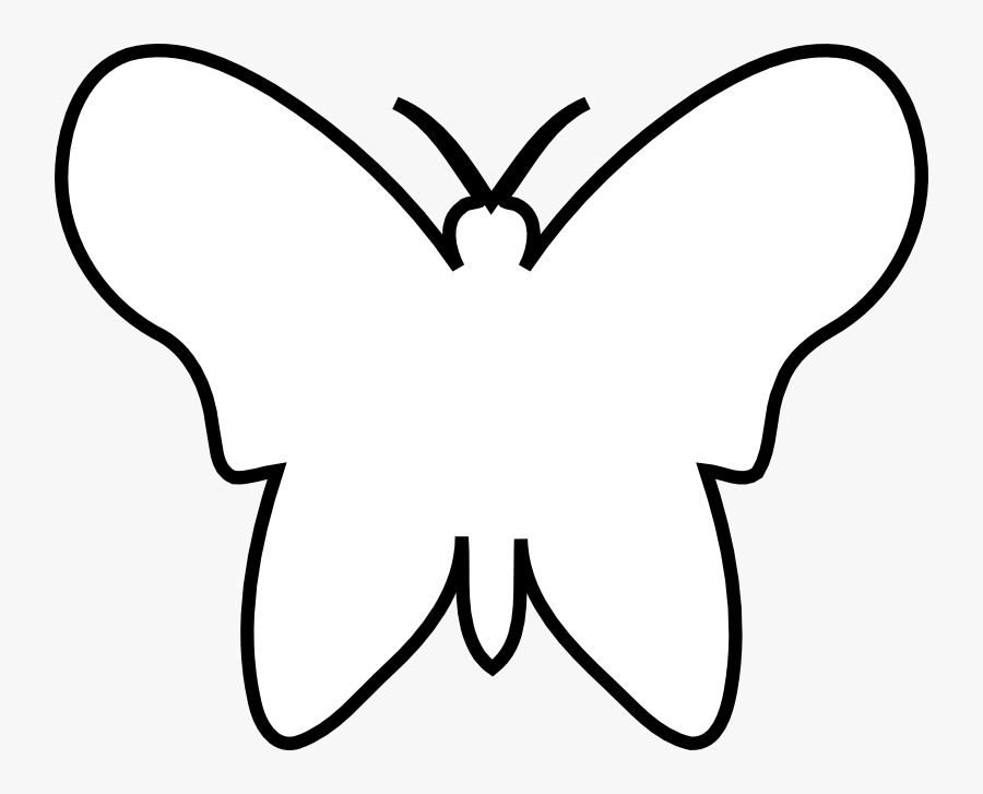 Chrismons And Chrismon Patterns To Download Christmas - Butterfly Black And White Outline, Transparent Clipart
