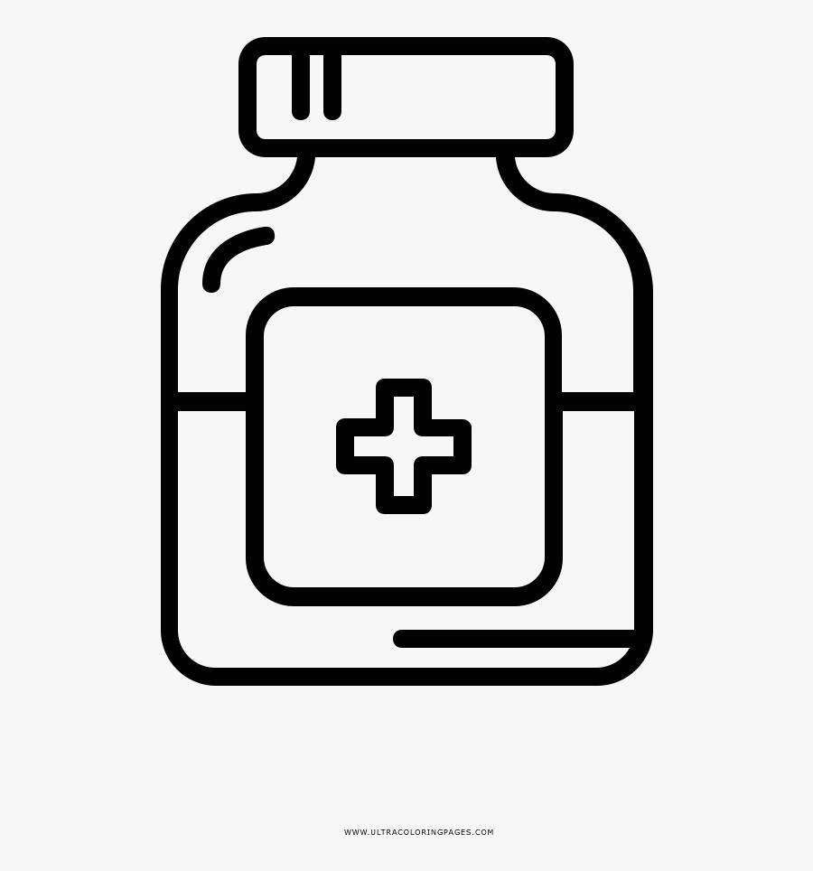 Jpg Freeuse Library Photography Clip Art Transprent - Bottle Of Medicine Logo, Transparent Clipart