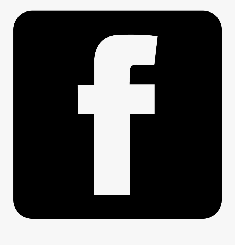 Black Facebook Icon Clipart - Black Facebook Logo Vector, Transparent Clipart