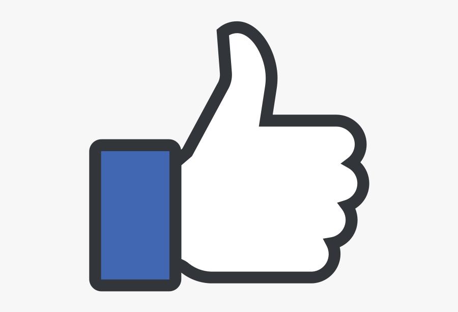 Facebook Like, Transparent Clipart