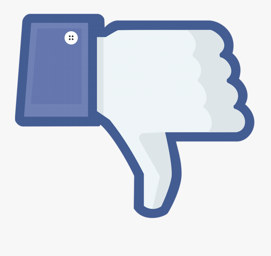 Facebook, Youtube Dislike Clipart Pictures - Don T Like Icon, Transparent Clipart
