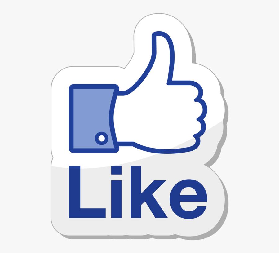 Kisspng Social Media Marketing Like Button Facebook - Like In Social Media, Transparent Clipart