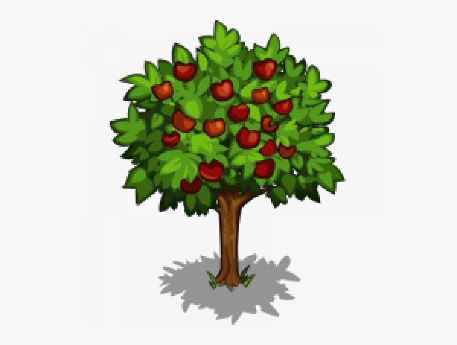 Apple Tree Png Transparent Png Images - Apple Tree Icon, Transparent Clipart