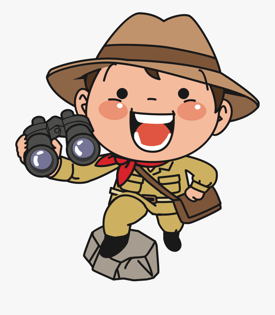 Explorer - Explorer Cartoon Transparent Background, Transparent Clipart