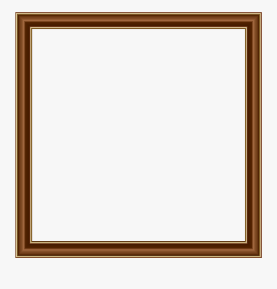 Frames And Borders Brown, Transparent Clipart