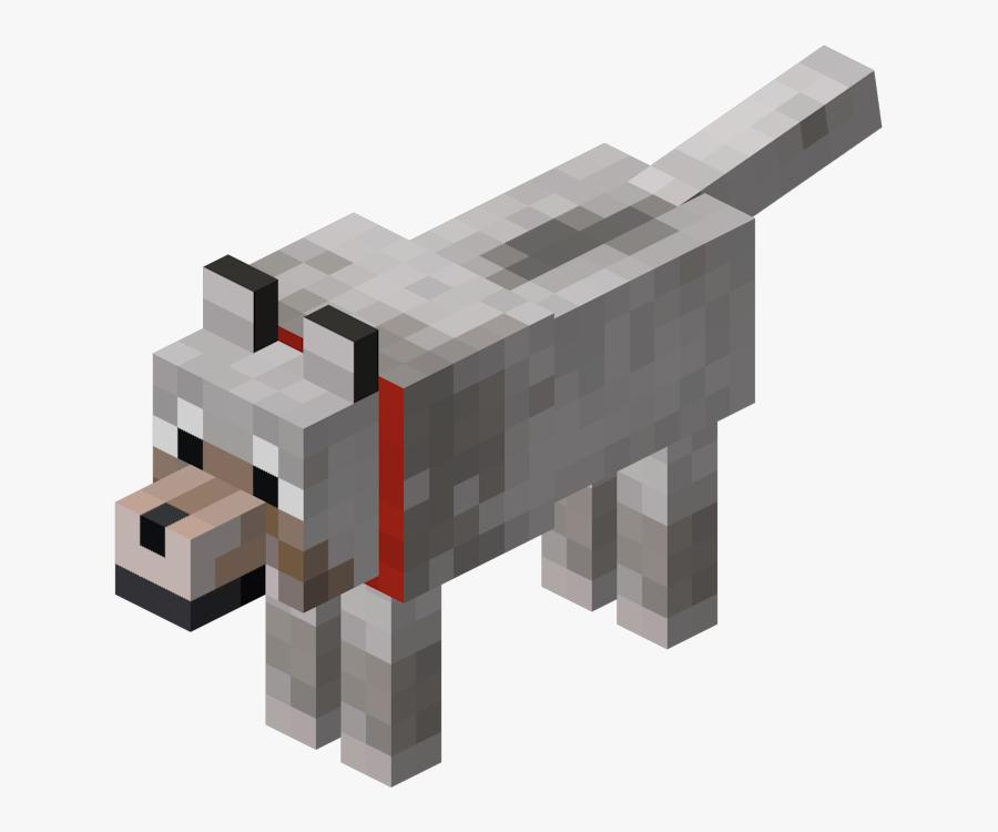 Minecraft Png Transparent Minecraft Mob Minecraft Wolf Free