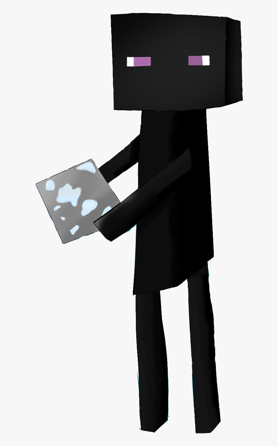 Minecraft Enderman Clipart Enderman Cartoon Minecraft Png