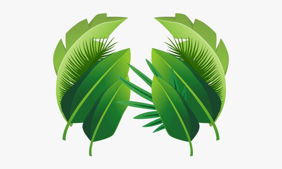 Clip Art Planta De Folhas Arquivo - Transparent Background Tropical Leaf Png, Transparent Clipart
