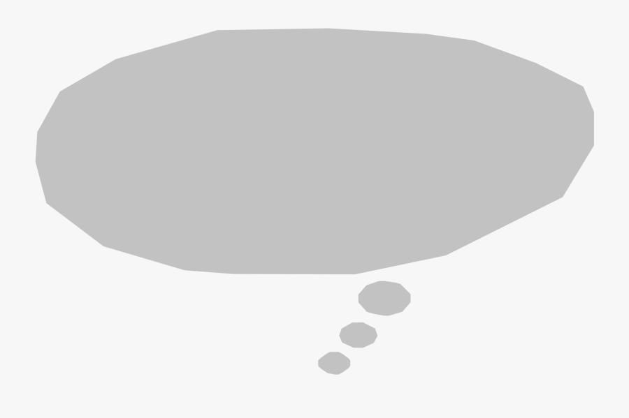 Thought Bubble Refixed Clip Arts - Circle, Transparent Clipart