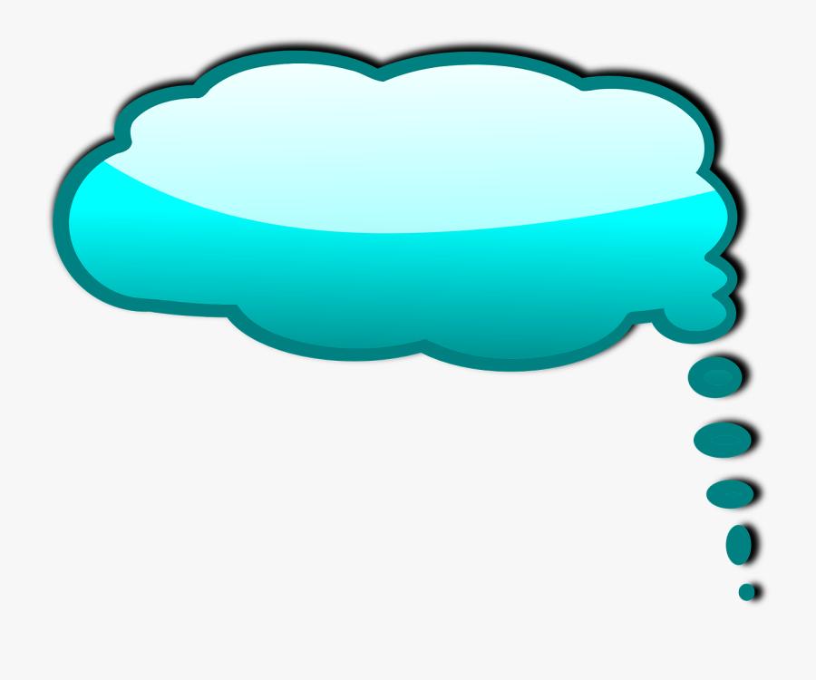 Thinking Bubble Idea Free Picture - Color Speech Bubble Png, Transparent Clipart
