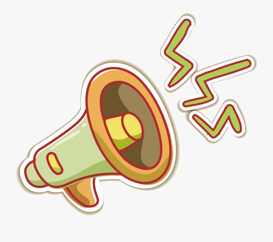 Megaphone Clipart Speaker Phone Loudspeaker Cartoon Png Free Transparent Clipart Clipartkey