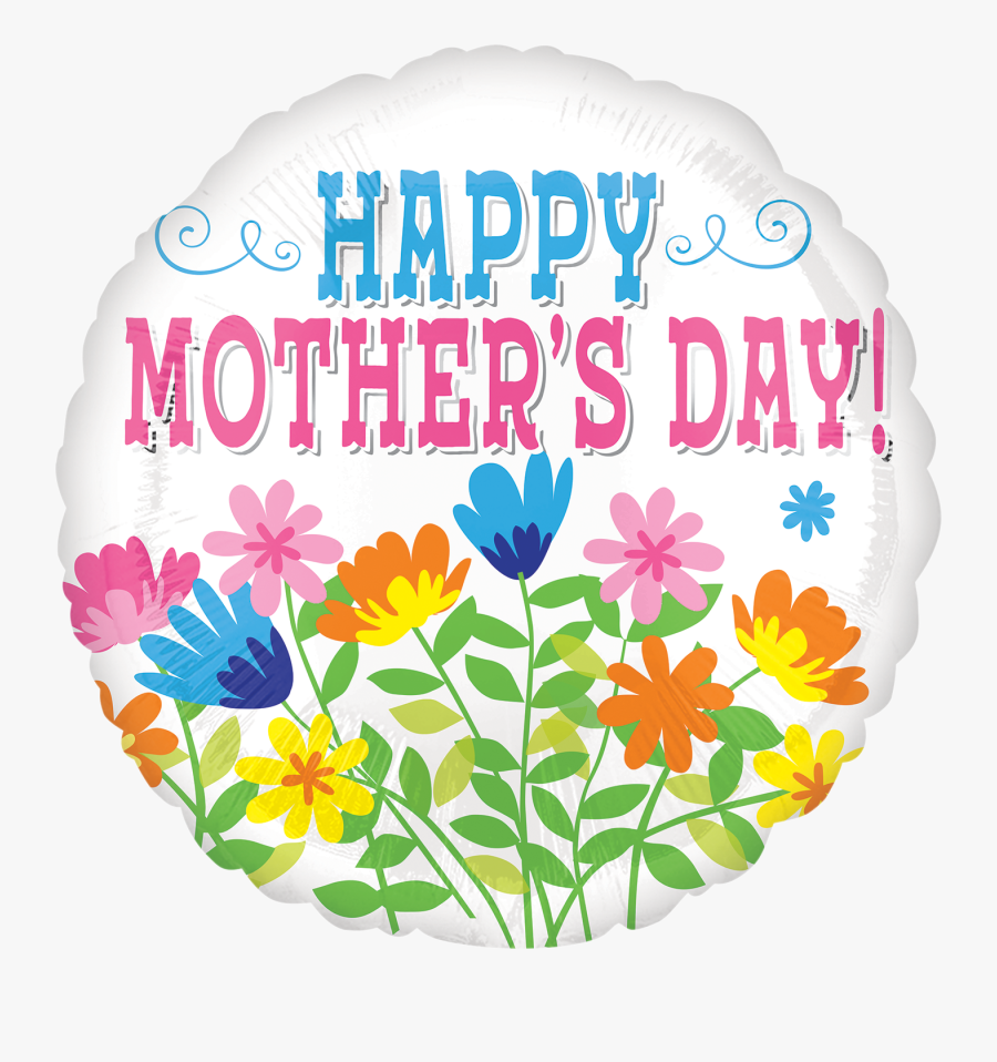Transparent Mothers Day Flowers Clipart - Illustration, Transparent Clipart
