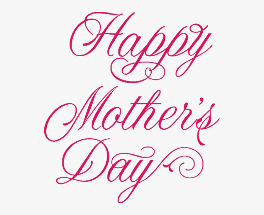 """Mother""""s Day Font Family Point - Happy Mothers Day Fonts, Transparent Clipart"""