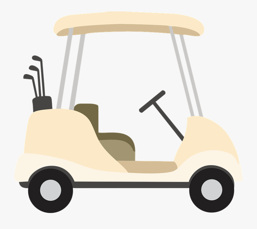 Golf Cart, Recreation, Golf, Club, Play, Course, Sport - Free Clipart Golf Cart, Transparent Clipart