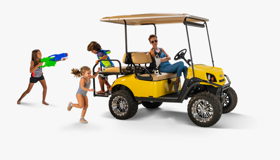 Famdamily - Golf Car Png, Transparent Clipart