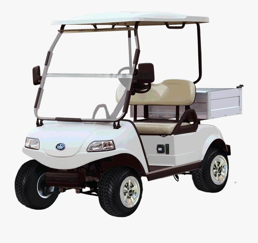 Electric Vehicle Cart Golf Buggies - Transparent Golf Cart Png, Transparent Clipart