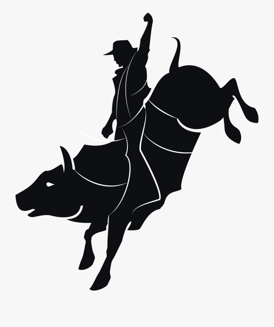 Bull Riding Vector Graphics Clip Art Rodeo - Bull Rider ...
