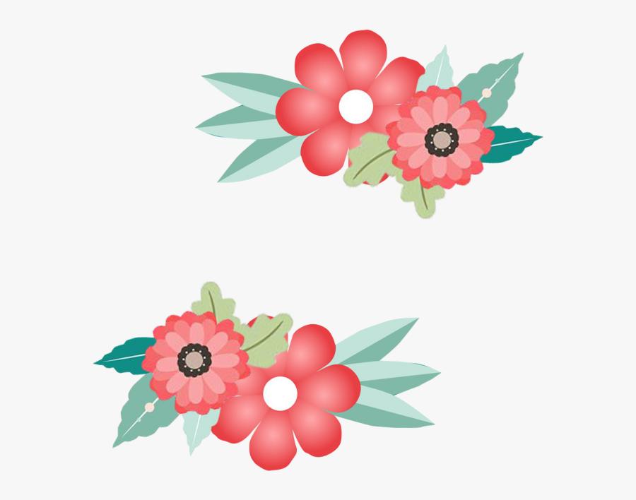 Flower Border, Flower Border,frame, Border, Invitation - Flowers Frames And Borders, Transparent Clipart